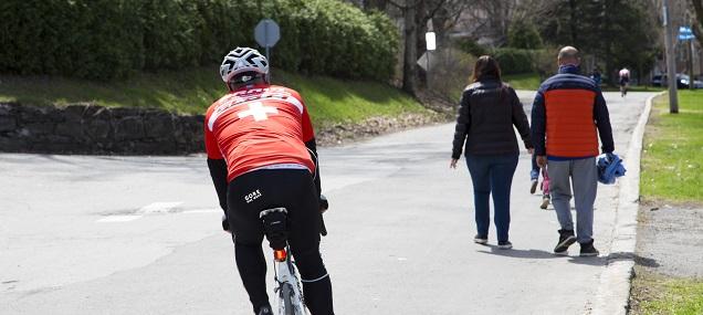 vélo, marche, printemps